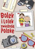 Okładka książki: Bolek i Lolek zwiedzają Polskę