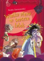 Okładka książki: Wielka afera w teatrze lalek