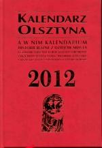 Okładka książki: Kalendarz Olsztyna 2012