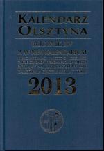 Okładka książki: Kalendarz Olsztyna 2013