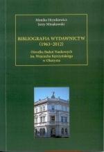 Okładka książki: Bibliografia wydawnictw (1963-2012) Ośrodka Badań Naukowych im. Wojciecha Kętrzyńskiego w Olsztynie