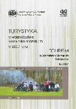 Okładka książki: Turystyka w województwie warmińsko-mazurskim w 2007 roku