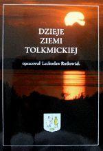 Okładka książki: Dzieje ziemi tolkmickiej