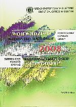 Okładka książki: Województwo warmińsko-mazurskie w liczbach 2008