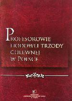 Okładka książki: Profesorowie hodowli trzody chlewnej w Polsce