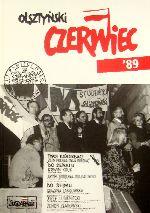 Okładka książki: Olsztyński czerwiec '89