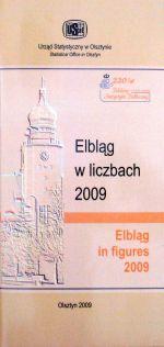 Okładka książki: Elbląg w liczbach 2009