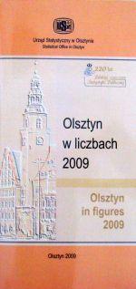 Okładka książki: Olsztyn w liczbach 2009