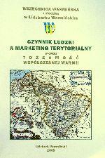 Okładka książki: Czynnik ludzki a marketing terytorialny