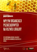 Okładka książki: Wpływ organizacji pozarządowych na rozwój lokalny