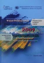 Okładka książki: Województwo Warmińsko-Mazurskie 2009