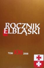 Okładka książki: Rocznik Elbląski. Tom XXI
