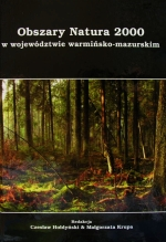 Okładka książki: Obszary Natura 2000 w województwie warmińsko-mazurskim