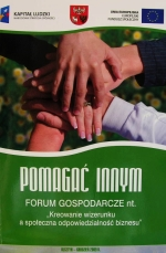 Okładka książki: Pomagać innym