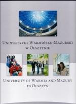 Okładka książki: Uniwersytet Warmińsko-Mazurski w Olsztynie