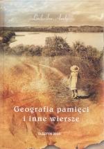 Okładka książki: Geografia pamięci i inne wiersze