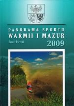 Okładka książki: Panorama sportu Warmii i Mazur - 2009
