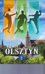 Okładka książki: Olsztyn - sport 2008/2009