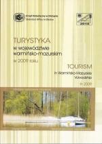 Okładka książki: Turystyka w Województwie Warmińsko-Mazurskim w 2009 r.