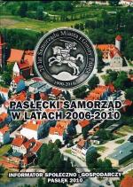 Okładka książki: Pasłęcki Samorząd w latach 2006-2010