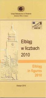 Okładka książki: Elbląg w liczbach 2010