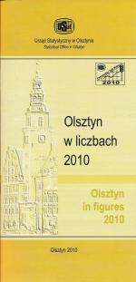 Okładka książki: Olsztyn w liczbach 2010