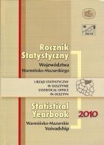Okładka książki: Rocznik statystyczny województwa warmińsko-mazurskiego 2010