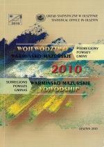 Okładka książki: Województwo Warmińsko-Mazurskie 2010