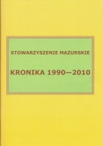 Okładka książki: Kronika 1990-2010