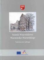 Okładka książki: Sejmik Województwa Warmińsko-Mazurskiego