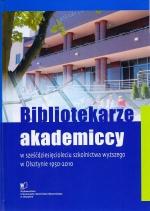 Okładka książki: Bibliotekarze akademiccy