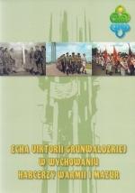 Okładka książki: Echa viktorii Grunwaldzkiej w wychowaniu harcerzy Warmii i Mazur