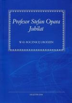 Okładka książki: Profesor Stefan Opara