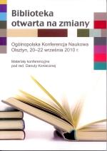 Okładka książki: Biblioteka otwarta na zmiany