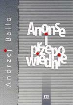 Okładka książki: Anonse i przepowiednie