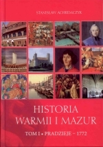Okładka książki: Historia Warmii i Mazur