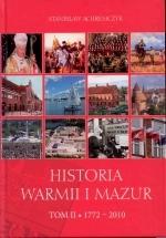 Okładka książki: Historia Warmii i Mazur. T. 2, 1772-2010