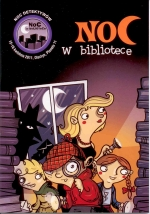 Okładka książki: Noc w bibliotece