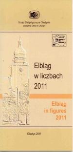 Okładka książki: Elbląg w liczbach 2011