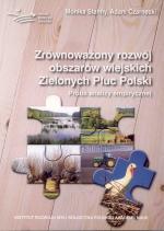 Okładka książki: Zrównoważony rozwój obszarów wiejskich Zielonych Płuc Polski