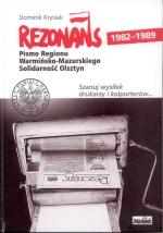 Okładka książki: Rezonans 1982-1989