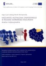 Okładka książki: Możliwości kształcenia zawodowego w regionie warmińsko-mazurskim