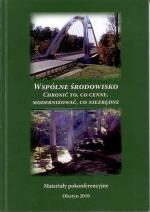 Okładka książki: Wspólne środowisko
