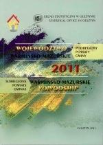 Okładka książki: Województwo Warmińsko-Mazurskie 2011