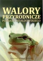 Okładka książki: Walory przyrodnicze powiatu działdowskiego
