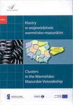 Okładka książki: Klastry w województwie warmińsko-mazurskim