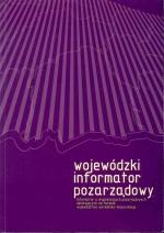 Okładka książki: Wojewódzki informator pozarządowy