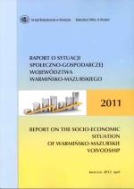 Okładka książki: Raport o sytuacji społeczno-gospodarczej województwa warmińsko-mazurskiego 2011