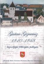 Okładka książki: Gustaw Gizewiusz 1810-1848