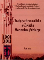 Okładka książki: Tradycja grunwaldzka w Związku Harcerstwa Polskiego